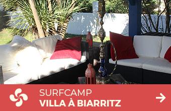 surfcamp villa biarritz
