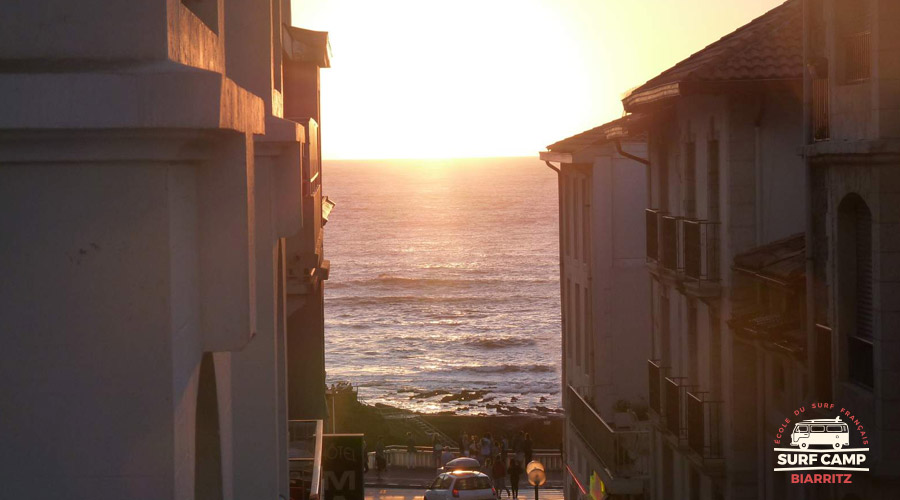 surf camp hotel biarritz